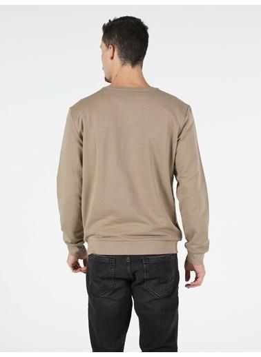 Colin's Regular Fit Erkek Bej Sweatshirt Bej